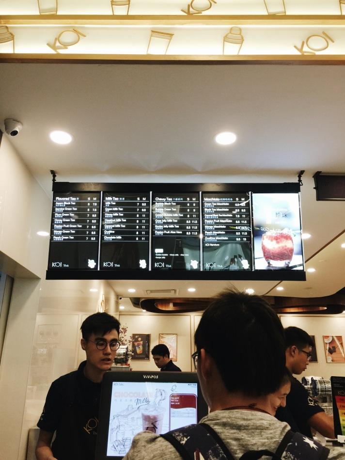 Koi bubble tea is now in malaysia b l o g for Koi 1 utama