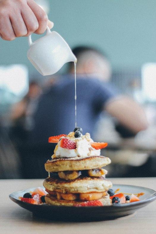Pancakes in Kuala Lumpur