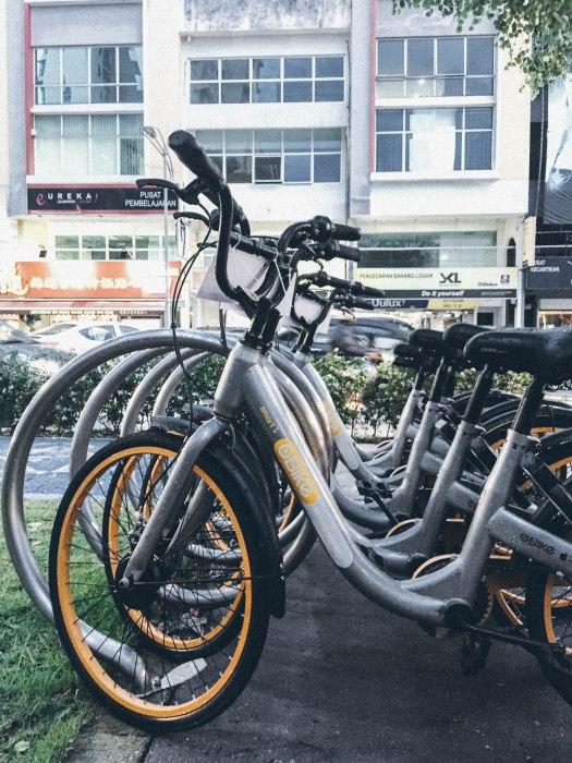 GoCar Rent A Car Kuala Lumpur Obike bike sharing KL