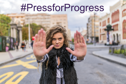#PressforProgress - IWD2018