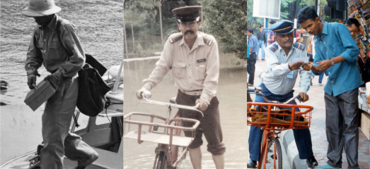 Pos Malaysia Bicycles