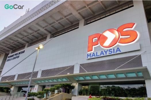 #TakeGoCar at Pos Malaysia
