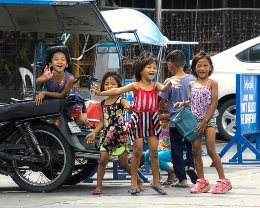 Children street