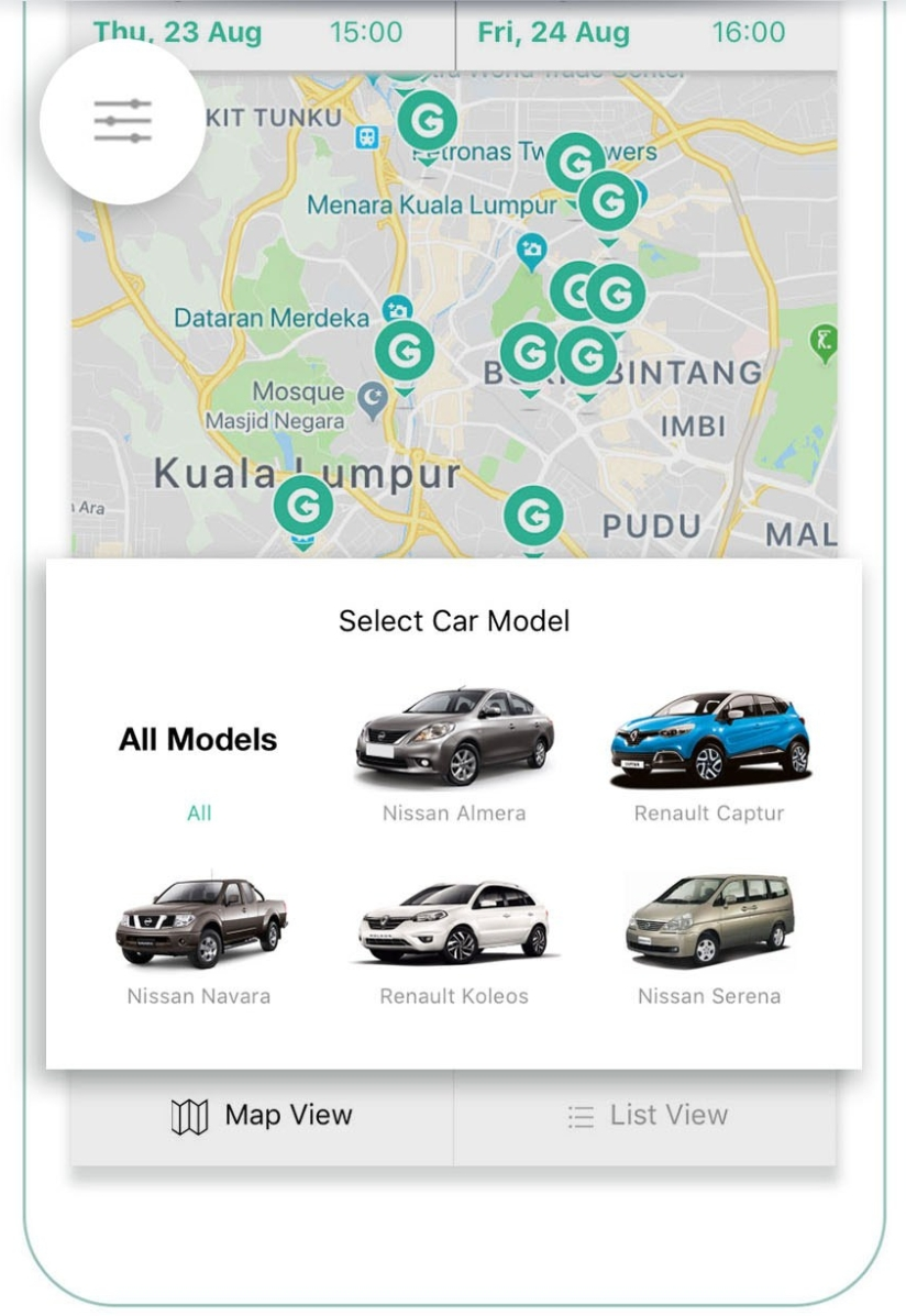 App Screenshots_Filter