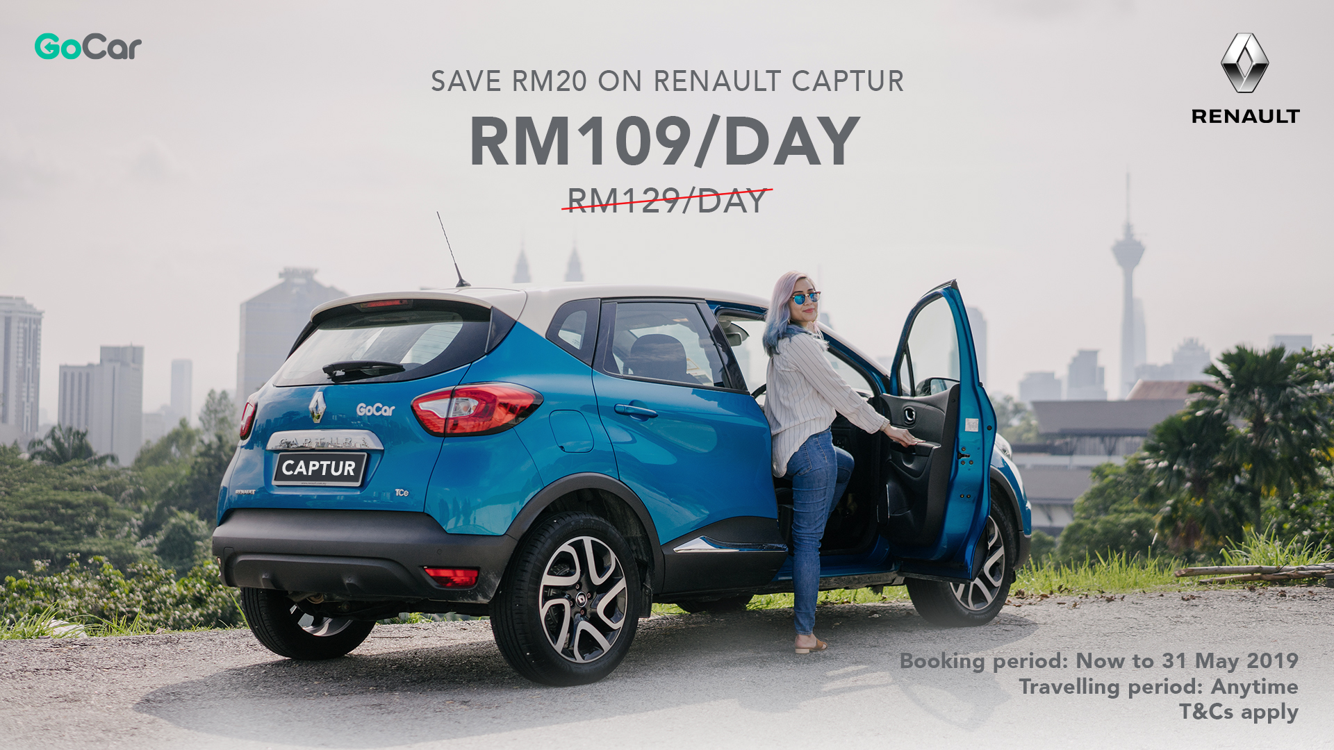Renault Captur Experience >> Unlock Your Renault Captur Experience At Only Rm109 Day